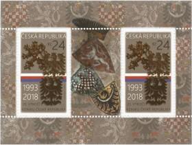 Sérii poštovních známek k připomenutí kulatého výročí chystá také Česká pošta, nejvzácnější československé poštovní známky budou pak k vidění v srpnu na Světové poštovní výstavě Praga 2018.