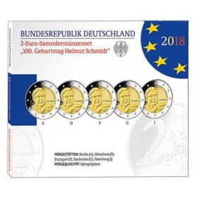 Na letošním World Money Fairu bude také nově uvedena dvoueurová mince s portrétem německého kancléře Helmuta Schmidta, který by letos slavil sté narozeniny.
