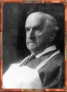 Antonín Frič (1932 -  1913) jako již zkušený prosektor
