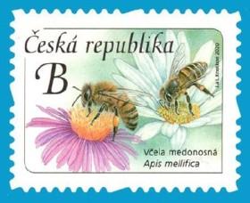 včela známka