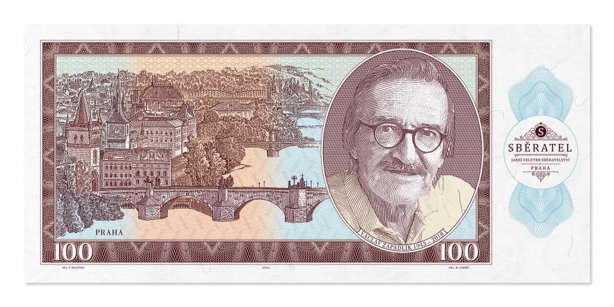 Bankovka V. Zapadlík - Issota