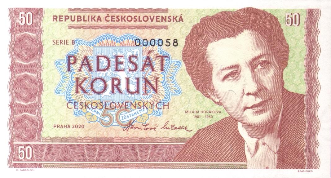 """BANKOVKA """"MILADA HORÁKOVÁ"""" SÉRIE B"""