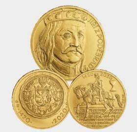 poděbrad gold